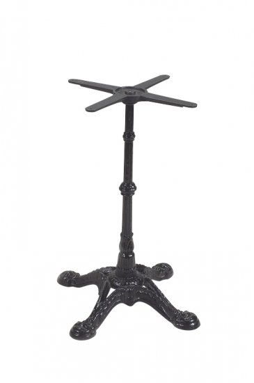 bf series decorative cast iron table base standard height larger image